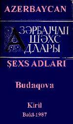 Azerbaycan Şexs Adlari