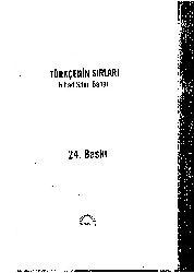 Türkenin Sırları-Nihad Sami Banarli-1972-352s