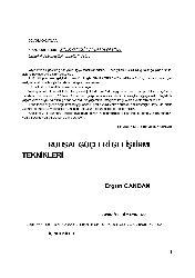 Ruhsal Gücleri Gelişdirme Teknikleri-Ergün Candan-2001-109s