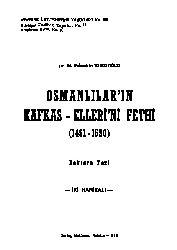 Osmanlilarin Qafqaz Ellerini Feyti-1461-1599-Fexretdin Qırqızoğlu-1976-568