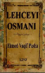 Ləhceyi osmani (osmani)(2)-əhməd vaqif paşa-Ləhceyi osmani (osmani)(1)-əhməd vaqif paşa
