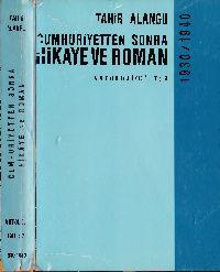 Cumhuriyetden Sonra Hikaye ve Roman-1930-1940-Antoloji-2-Tahir Alanqu-1968-459s