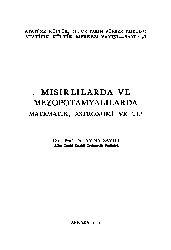Mısırlılarda Ve Mezopotamyalılarda Matematik-Astronomi-Tip-Aydın Sayılı-1991-534s