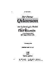 Qilavson-Bir Neçe Söz-Bey Hadi