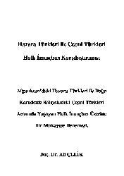 Hezare Türkleri Ile Çepni Türkleri Xalq Inancları Qarşılaşdırması Ali Çelik-22