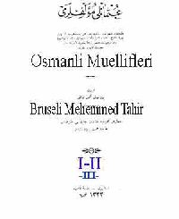 Osmanli Muellifleri