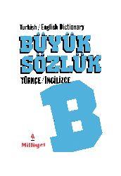 Büyük Türkce Ingilizce Sözlük-1990-411s