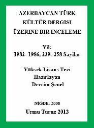 Azerbaycan Türk Kültür Dergisi Üzerine Bir Inceleme - Devrim Şenel