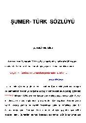 Sumer-Türk Sözlüğü-Eli Velioğlu-52s
