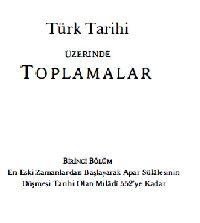 Türk Tarixi Üzerinde Toplamalar-Hüseyin Nihal-2014-273s