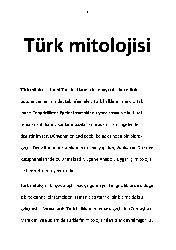 Türk Mitolojisi-Vikipedya