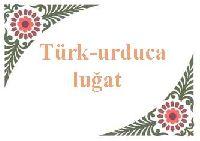 Türkce-orduca luğat
