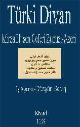 Mirza Hüsen Ceferi Zunuzi-Azeri-Türki Divan