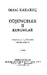 Düşünceler Qurumlar-2-Sezai Qaraqoç-4004-71s