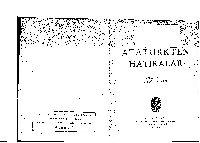 Atatürkden Anılar-Celal Bayar-1955-126s++Celal Bayarın 1946-1950 Ve 1954 Yılları Söylevleri-26s