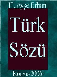 Türk Sözü-Tahlili Fihrist-Inceleme-Metin