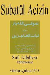Subatul acizin-sufi allahyar-turkmen