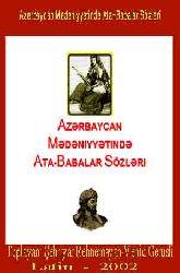 Azerbaycan Medeniyyetinde Ata-Babalar Sözleri