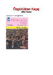 Özgürlükten Kaçış-Erich Fromm-1996-226s+Erich Froom Ve Insançı Psikoloji