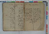 Qaragöz Destanı-El Yazma-180s