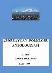 Göyce Folkloru-Azerbaycan Folkloru Antolojyası