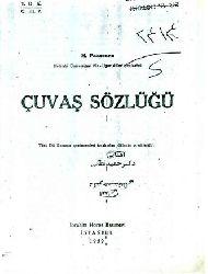 Çuvaş Türkcesi-Türkiye Türkcesi Sözlük