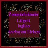 Ingilisce-Azerbaycanca Zoometaforizmler Luğeti