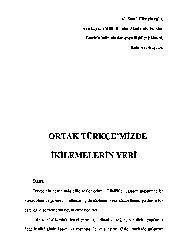 Ortaq Türkcemizde İkilemelerin Yeri Ali Şamil Hüseyinoğlu-Baki-16s