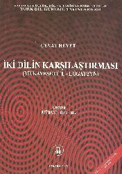 İki Dilin qarşılaşdırılması-muqayisetül lüğateyn-Cevat Heyet-çev-mürsel öztürk-2003-166s