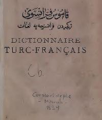 Qamusi Türki-Fransa_Şemsetdin Sami