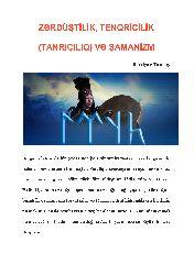 Zerdüştilik-Tenqriçilik-Tanrıçılıq-Və Şamanizm-Bextiyar Tuncay-27s