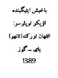 Baxış Itiginde-Öykü Toplusu-Ilhan Türk-Tanhu-Ebced-1389-55s