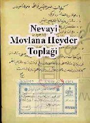 NEVAYI-MEVLANA HEYDER TOPLAĞI-El Yazma