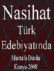 Türk Edebiyatında Nasihat - Mustafa Durdu