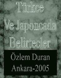 Türkce Ve Japoncada Belirtecler