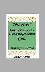 Türkiye Türkcesi Ve Halha Moğolcasında Cati