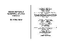 Sosyal Quyqunun Gelişiminde Bireysel Psikoloji-Alfred Adler-Xalis Özgü-2002-112s