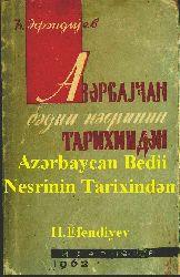 Azerbaycan Bedii Nesrinin Tarixinden