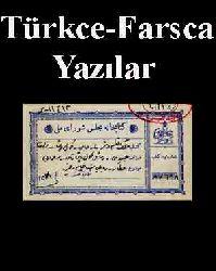 Türkce-Farsca Yazılar