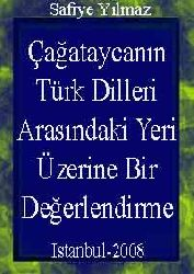 Çağataycanın Türk Dilleri Arasındaki Yeri Üzerine Bir Değerlendirme
