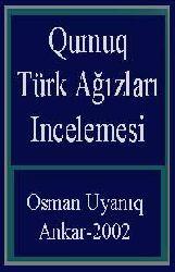 Qumuq Türk Ağızları Incelemesi