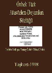 Özbek Türk Atasözleri-Deyimleri Sözlüğü