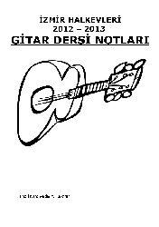 Gitar Dersi Notları-Serdar Y.Türkmen-2013-139s