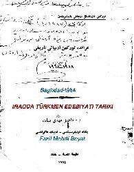 Iraqda Türkmen Edebiyati Tarixi