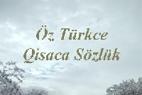 Öztürkcə Qısaca Sözlük – Cengiz Kurt -16s