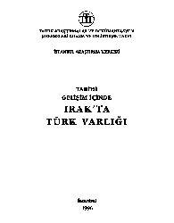 Tarixi Gelişim Içinde Iraqda Türk Varlighi-Sübhi Saatchi-1996-349s