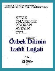 uzbek Dilinin Izahli Luğati