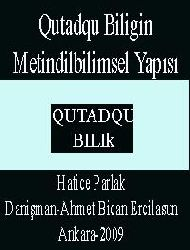 Qutadqu Biligin Metindilbilimsel Yapısı