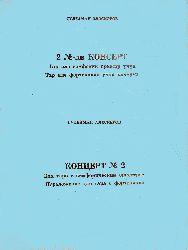 İKİ Numreli Tar Ile Simfonik Orkestir üçün Konsert -partitur-Süleyman elesgerov -16s