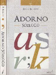 Adorno Sözlüğü-Roger Behrens-2011-270s